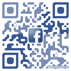 QR code with logo 1vd70