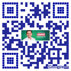 QR code with logo 1vd90