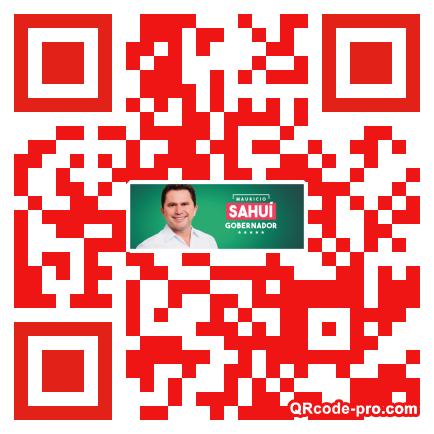 QR code with logo 1vdg0