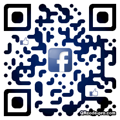 QR code with logo 1ve60