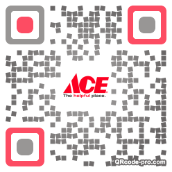 QR code with logo 1vf50