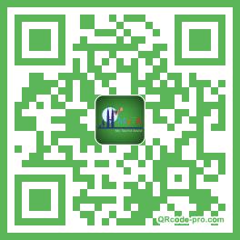 QR code with logo 1vfd0
