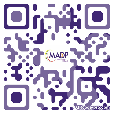 QR code with logo 1vgd0