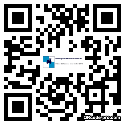 QR code with logo 1vhs0