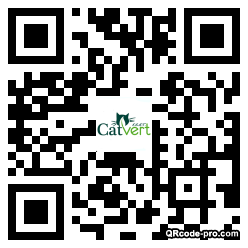 QR code with logo 1vme0