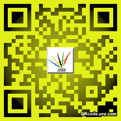 QR code with logo 1vn20