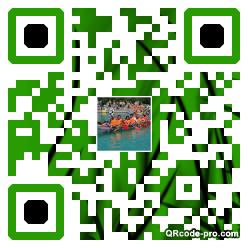 QR code with logo 1vog0