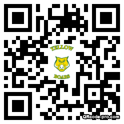 QR code with logo 1vos0