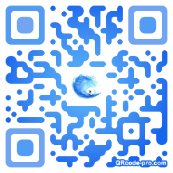 QR code with logo 1vpe0