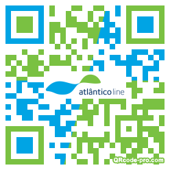 QR code with logo 1vq10