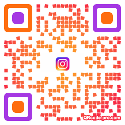 QR code with logo 1vsh0