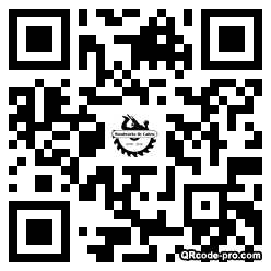 QR code with logo 1vvt0