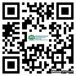 QR code with logo 1vxw0