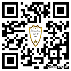 QR code with logo 1vym0