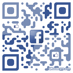 QR code with logo 1vzf0
