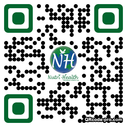 QR code with logo 1w040