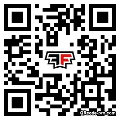 QR code with logo 1w130