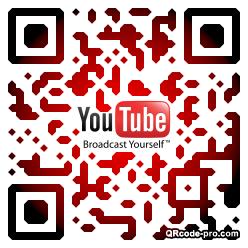 QR code with logo 1w1b0