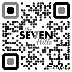 QR code with logo 1w1x0
