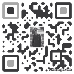 QR code with logo 1w2p0