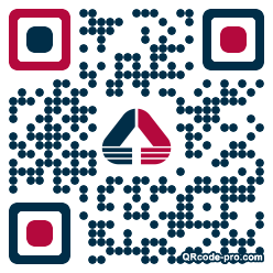 QR code with logo 1w3M0