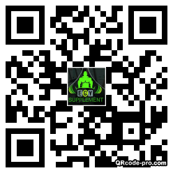 QR code with logo 1w5a0