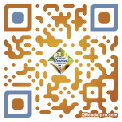 QR code with logo 1w8D0