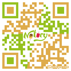 QR code with logo 1wFg0