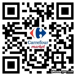 QR code with logo 1wGP0