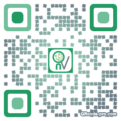 QR code with logo 1wV50