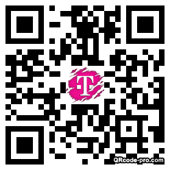 QR code with logo 1wd10