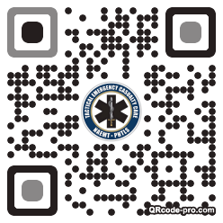QR code with logo 1wfz0