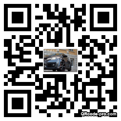 QR code with logo 1whM0