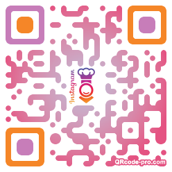 QR code with logo 1wi30