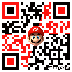 QR code with logo 1wn70