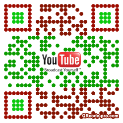 QR code with logo 1woX0