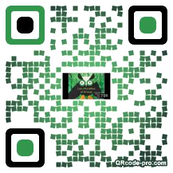 QR code with logo 1wod0