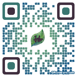 QR code with logo 1wpg0