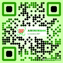 QR code with logo 1wrd0
