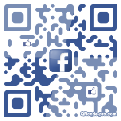 QR code with logo 1ws60