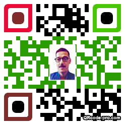 QR code with logo 1wsT0