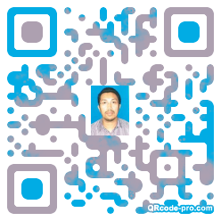 QR code with logo 1wtc0