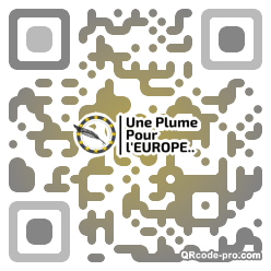 QR code with logo 1wut0