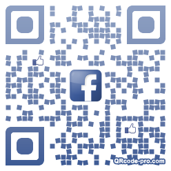 QR code with logo 1wv90