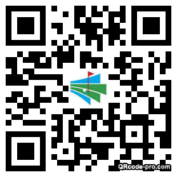 QR code with logo 1wzb0
