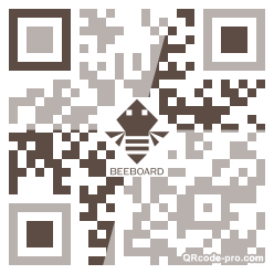 QR code with logo 1wzf0