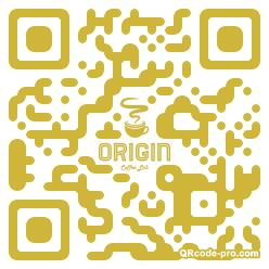 QR code with logo 1x0d0
