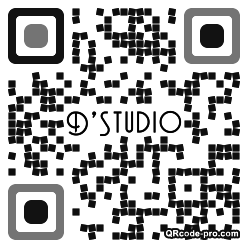 QR code with logo 1x630