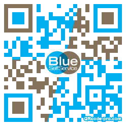 QR code with logo 1x6X0