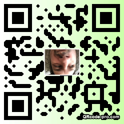 QR code with logo 1x7M0